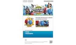 "Actionzone Gutschein ""Bubble Soccer"""