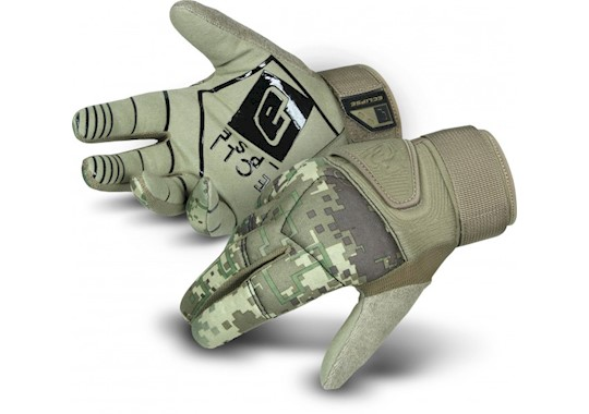 Planet Eclipse Full Finger Gloves HDE Camo S